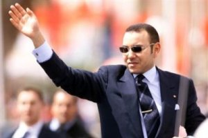 Photo: Le roi Mohammed VI